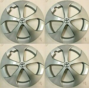 4 Hubcaps 15 That Fit Toyota Prius 2012 2013 2014 2015 Wheels 61167