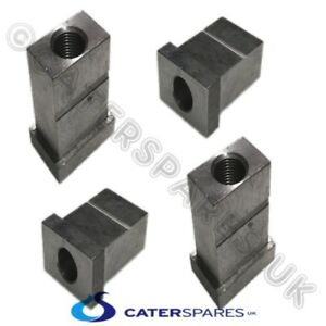 4 X Henny Penny Pressure Fryer Meatal Leg Box Section Inserts Support For Castor