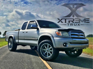 Fits Paintable Black 03 06 Toyota Tundra Extended Fender Flares Smooth Bolt On