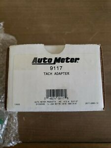 Auto Meter 9117 Tach Adapter Rpm Signal Adapter