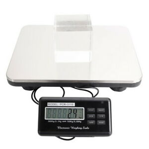 300kg 100g Digital Postal Parcel Scales Platform Postage Shipping Weighing