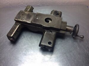 Logan 400 Metal Lathe 9 Complete Carriage Assy W Cross Slide