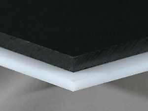 Hdpe Sheet 1 Thick 24 Length X 24 Width White