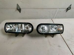 Boss Snow Plow Light Left Right Light Set 2002 2007 Part Msc04732