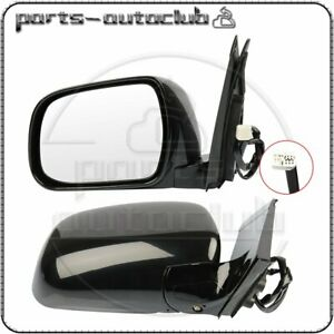 For 2004 2009 Lexus Rx330 rx350 rx400h Left right Mirrors Black Power Heated