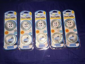 Lot Of 10 Total Of 5 Packages Fresh Tech Scent Refills New Car Smell