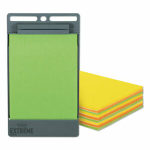 Xl Notes With Holder Green orange yellow 4 5 X 6 75 25 Sheets pad 9 Pads p