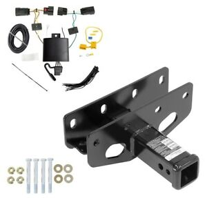 Trailer Tow Hitch For 18 19 Jeep Wrangler Jl Except Sahara Rubicon W Wiring
