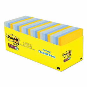 Pads In New York Colors Notes 3 X 3 70 sheet 24 pack