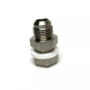 Turbo Oil Pan Return Drain Plug Stainless Steel Adapter Bung Fitting An10