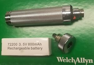 Welch Allyn 3 5v Rechargeable Power Handle 71670 With New Battery Included