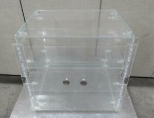 Countertop Plastic Display Case Cabinet 17 X 14 X 17 Cookie Cake Pie Pastry