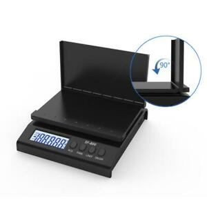 66lb X 0 1oz Postal Scale Digital Lcd Shipping Mail Packages Weigh Black 30kg 1g