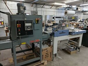 Conflex 250 Shrink Wrapper With Shanklin T 6xl Heat Tunnel