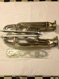 Big Block Chevy Bbc T4 Twin Turbo Stainless Headers 427 454 396 502 572 Manifold