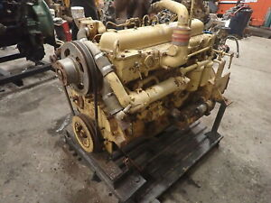 International Dt407 Turbo Diesel Engine Runs Strong Rare Dt 407 466 Td15