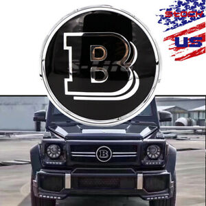 Car Grille Logo Mirror Emblem For Mercedes Benz Glc Gle Gls 2015 2018 Brabus