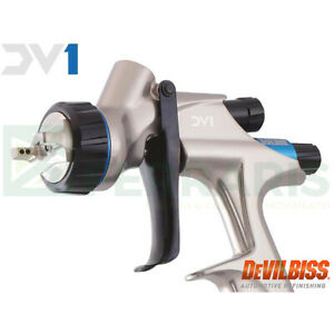 Spraygun Devilbiss Dv1 Airbrush Hvlp Plus 1 3 Mm Nozzle Original With Warranty