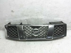 2004 2005 2006 2007 Nissan Titan 5 6 Front Upper Grille Grill 62310 7s200 Chrome