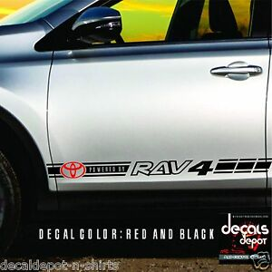 Decal Vinyl Fits Toyota Rav4 Xle Stickers 2007 2008 2009 2010 2011 2012 To 2019