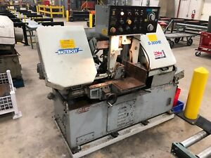 Master Cut Automatic Feed Horizontal Industrial Band Saw S 300hb 12w X 10h