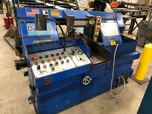 Doall Automatic Feed Horizontal Industrial Band Saw C 305a 12 w X 12 h