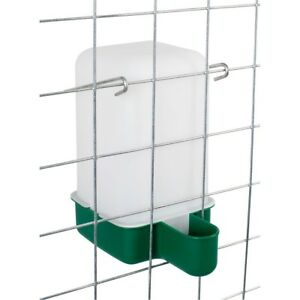 10 Pack Baby Chick Waterer Drinker Cage Cup Canaries Chickens Poultry