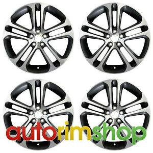 Jaguar Xe 2017 2019 18 Oem Staggered Wheels Rims Set Machined With Charcoal Tem