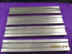 Vintage Precision Machinist Tools 4 Pc Mystery Parts Parallel Bars Blocks