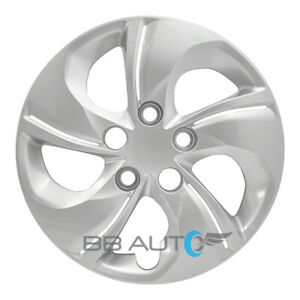 New 15 Silver Bolt On Hubcap Rim Wheel Cover For 2013 2015 Honda Civic