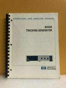 Hp 08444 90035 8444a Tracking Generator Operation And Service Manual