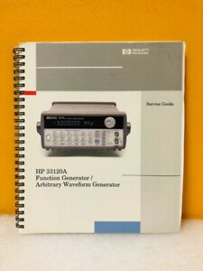 Hp 33120 90103 33120a Function Arbitrary Waveform Generator Service Guide