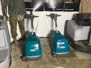 nice Tennant T 1 Battery Walk behind 15 Scrubber Only 30 Hrs