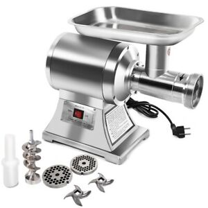 1100w Commercial Stainless Steel Electric Meat Grinder Heavy Duty 22 Small Bone