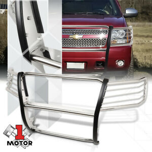 Stainless Steel Grille headlight Guard For 07 13 Chevy Avalanche suburban tahoe