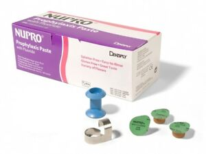 Dentsply 801299 Nupro Prophy Paste Cups Plus Grit Mint With Fluoride 200 pk
