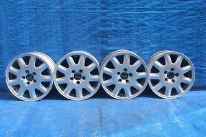 2001 Volvo S60 2 4l 2 Alloy Wheel 9 Spoke Rims 15x6 5 Set Of 4 Oem