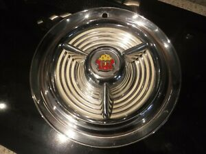 1953 1954 1955 Olds Fiesta Hubcap Nice Condition Wheel Cover