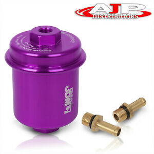 Universal Performance Racing Fuel Filter 200psi Turbo Super Charger N a Purple