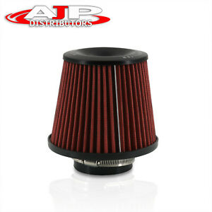 3 Round Tapered Universal Mesh Air Intake Cone Filter Cold Short Ram Induction