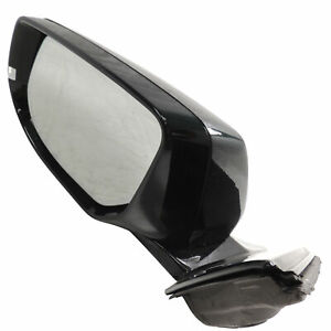 23153187 Exterior Side View Mirror Lh Green With Envy 2013 17 Cadillac Xts