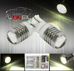 Cree Led Projector T10 White Light Bulbs Led Glove Box Courtesy Map Dome Drl Jdm