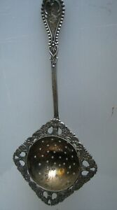 Vintage Sterling Silver Handle Tea Strainer