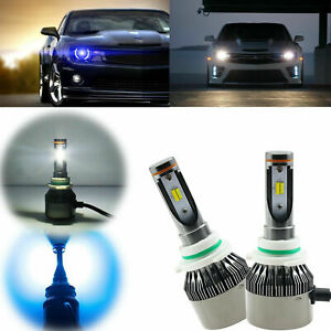 White Ice Blue High Power H10 9145 36000lm Led Bulbs For Headlight High Low Beam