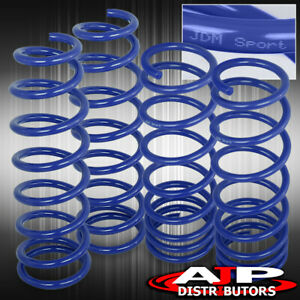 For 96 2000 Honda Civic Si Ek Jdm 2 Drop Suspension Lowering Springs Blue