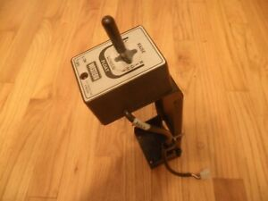 Western fisher 6 pin Snow Plow Control Controller W Floor Pedestal Tested