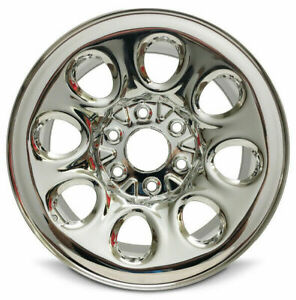 Set Of 4 Chrome Wheel Rim 17 Inch 2005 2013 Chevy Silverado 1500 6 Lug 139 7mm