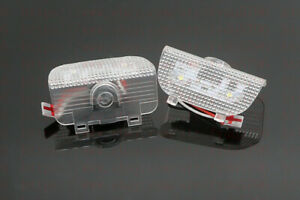 2x White Accord Logo Led Laser Door Projector Lights For Honda Accord 2013 2020