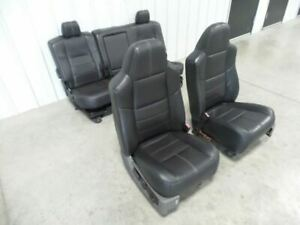08 10 Ford F250 Leather Seats Crew Cab Leather Seat Set 508920