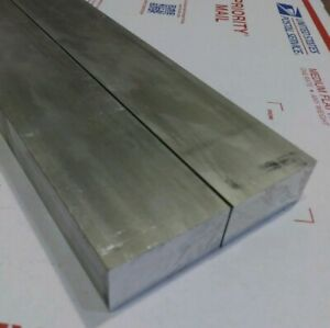 2 Pc 1 X 2 New 6 Long 6061 T6511 Solid Aluminum Plate Flat Bar Stock Block